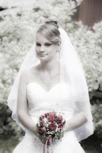retro Hochzeitsfoto