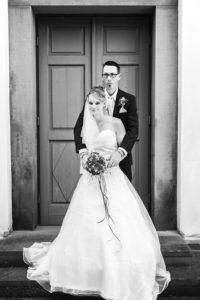 Hochzeitspaar black and white