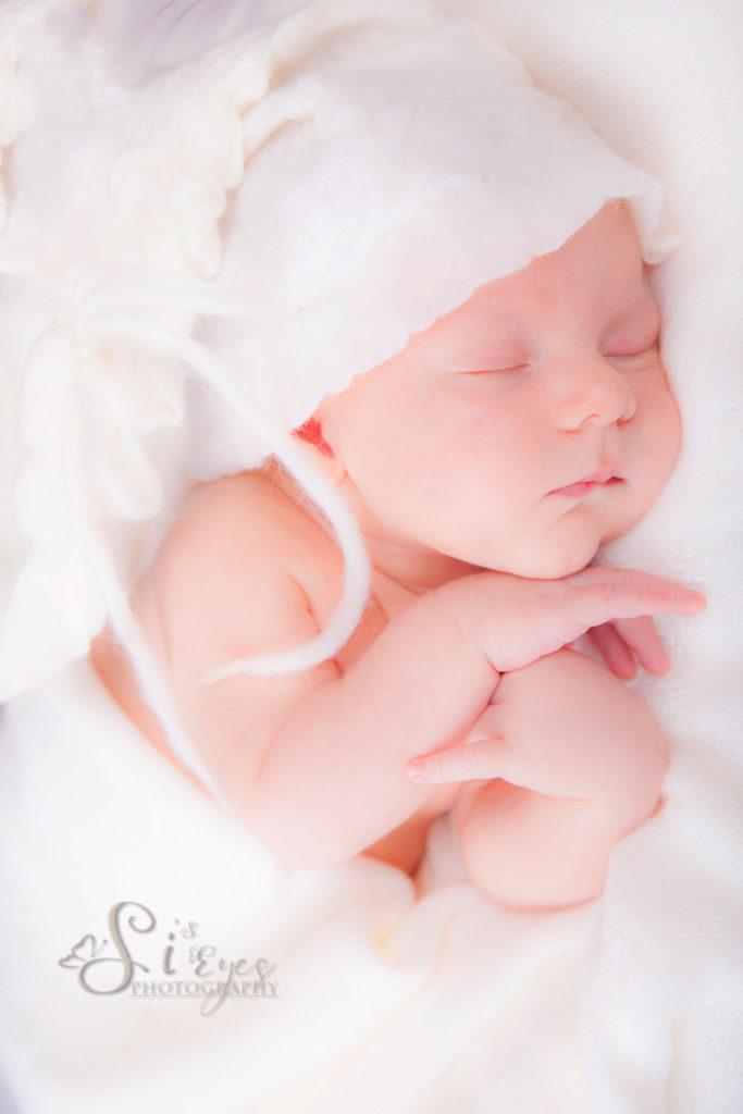 Neugeborenen Weiss Bild
