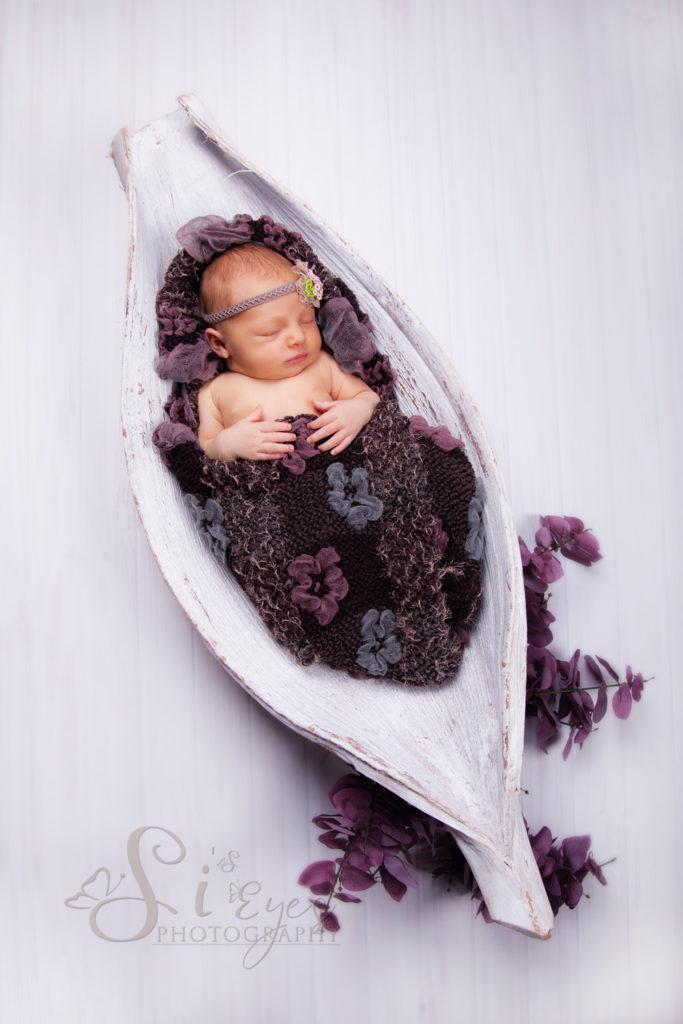 neugeborenenfotografie Maedchen