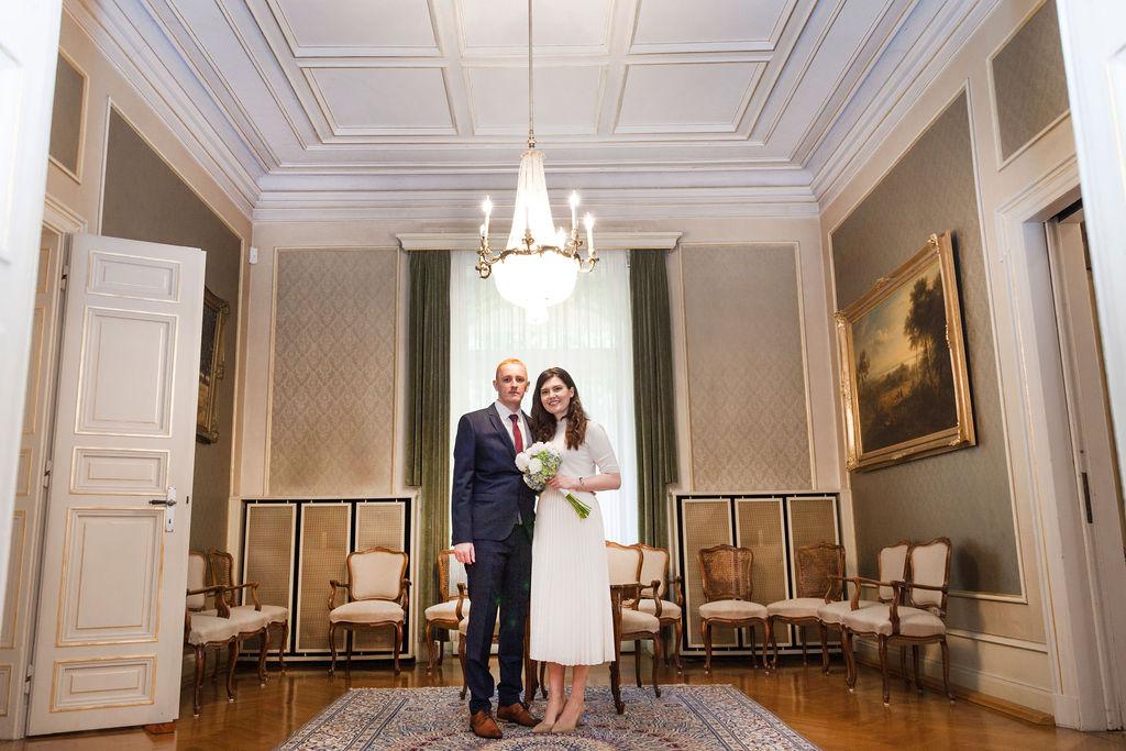 Wedding couple frisch verheirateten