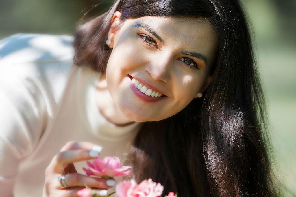 Hochzeitsfoto Portrait der Braut